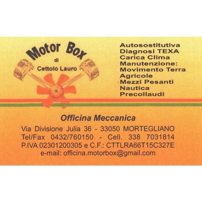 Motor Box - Autofficine e centri assistenza Mortegliano