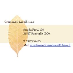 Cremonesi Mobili - Arredamenti - vendita al dettaglio Somaglia