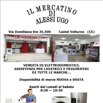 Il Mercatino di Alessi Ugo - Elettrodomestici - riparazione e vendita al dettaglio di accessori Castel Volturno