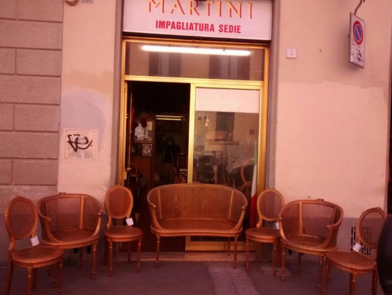 Impagliatura Sedie Martini - Firenze, Via Santa Verdiana, 4/R