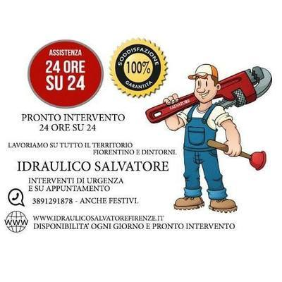 Idraulico Salvatore Pronto Intervento 24h - Idraulici Firenze
