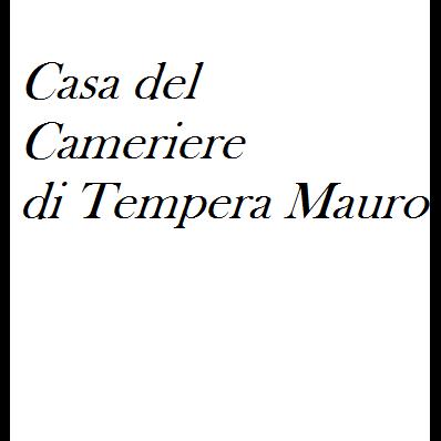 Casa del Cameriere di Tempera Mauro - Abiti da lavoro ed indumenti protettivi Giulianova