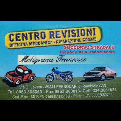 Meligrana Francesco Revisioni Auto e Moto - Autofficine e centri assistenza Rombiolo