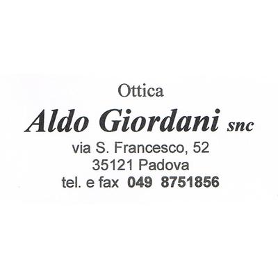 Ottica Aldo Giordani - Ottica, lenti a contatto ed occhiali - vendita al dettaglio Padova