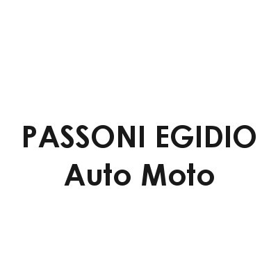 Passoni Egidio Auto - Moto - Automobili - commercio Robbiate