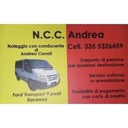 N.C.C. Andrea - Noleggio con Conducente - Autonoleggio Ravenna