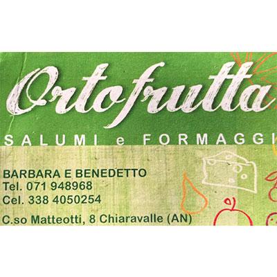 Ortofrutta Barbara e Benedetto - Frutta e verdura - vendita al dettaglio Chiaravalle