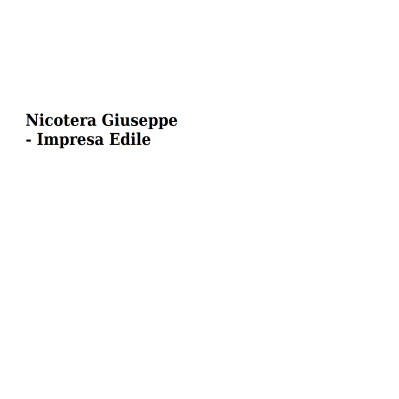Nicotera Giuseppe - Impresa Edile - Imprese edili Saint-Nicolas