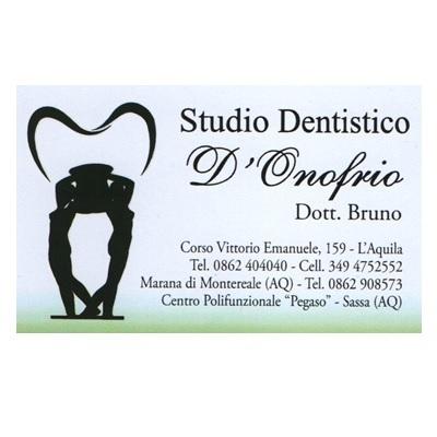 Studio Dentistico D'Onofrio Dott. Bruno - Dentisti medici chirurghi ed odontoiatri L'Aquila