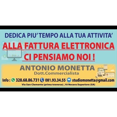 Studio Monetta Antonio Dottore Commercialista - Dottori commercialisti - studi Nocera Superiore