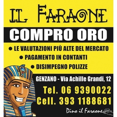 Il Faraone Compro Oro - Metalli preziosi e nobili Genzano di Roma