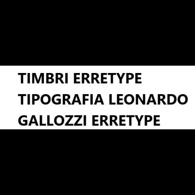 Timbri Erretype Tipografia Leonardo Gallozzi Erretype - Stampa digitale Macerata