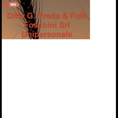 Ditta G. Preda & Folli Foschini - Insetticidi, anticrittogamici ed antiparassitari Massa Lombarda