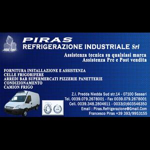 Piras Rerigerazione Industriale - Frigoriferi industriali e commerciali - riparazione Sassari