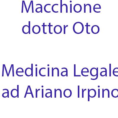 Macchione Oto Dr. - Medici generici Ariano Irpino