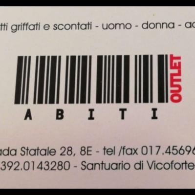 Outlet Abiti Vicoforte - Abbigliamento - vendita al dettaglio Vicoforte