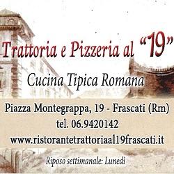 Ristorante Trattoria Pizzeria al 19