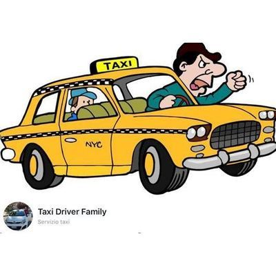 Taxi driver family - Taxi Caltanissetta
