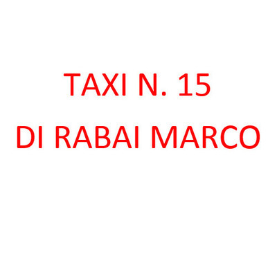 Taxi N. 15 Rabai Marco - Taxi Grosseto
