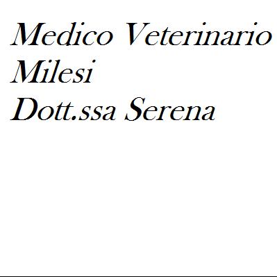 Medico Veterinario Milesi Dr.ssa Serena - Veterinaria - articoli e prodotti Strozza
