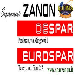 Supermercati Despar ed Eurospar Goffredo Zanon - Centri commerciali, supermercati e grandi magazzini Predazzo