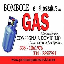 Bombole Gas Depalmas Alessandro - Gas, metano e gpl in bombole e per serbatoi - vendita al dettaglio Loiri Porto San Paolo