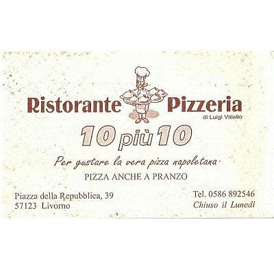 Pizzeria 10+10 - Ristoranti Livorno