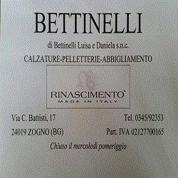 Bettinelli Calzature - Calzature - vendita al dettaglio Zogno