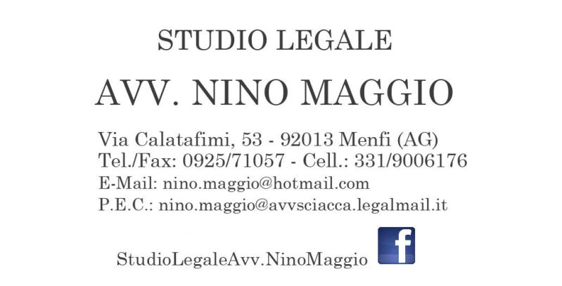 Studio Legale Maggio Avv. Nino