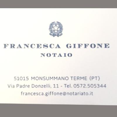 Studio Notarile Giffone Francesca - Notai - studi Monsummano Terme