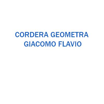 Cordera Geom. Giacomo Flavio