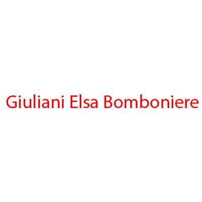 Giuliani Elsa Bomboniere