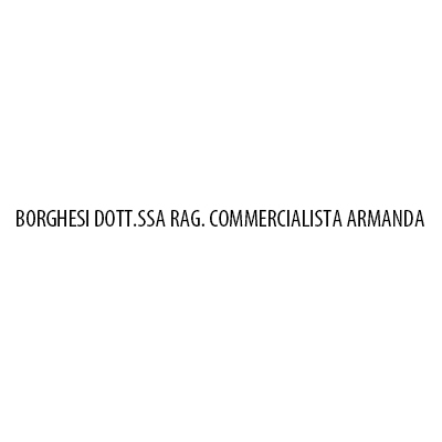 Borghesi Dott.ssa Rag.  Commercialista Armanda