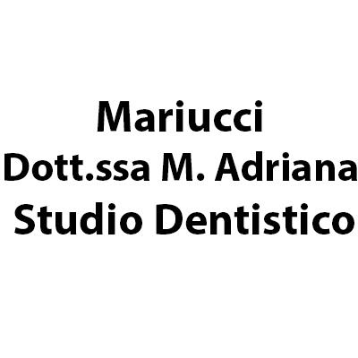 Mariucci Dott.ssa M.  Adriana Studio Dentistico