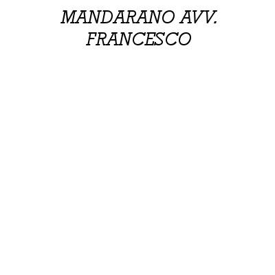 Mandarano Avv. Francesco - Avvocati - studi Prato