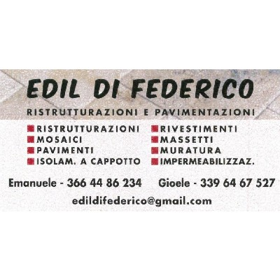 Edil di Federico - Ristrutturazioni e Pavimentazioni - Imprese edili Montesilvano