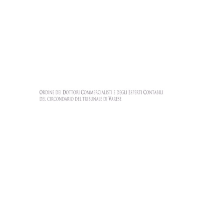 Ordine dei Dottori Commercialisti e degli Esperti Contabili di Varese
