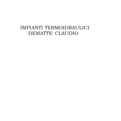 Dematte' Claudio Impianti Termoidraulici