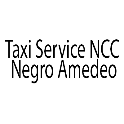 Taxi Service NCC - Negro Amedeo - Taxi Nova Milanese