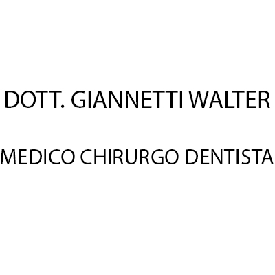 Dott. Giannetti Walter Medico Chirurgo Dentista - Dentisti medici chirurghi ed odontoiatri Silvano d'Orba
