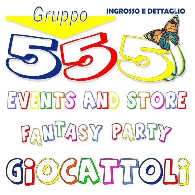 555 Events And Store - Giocattoli e giochi - vendita al dettaglio Galatone