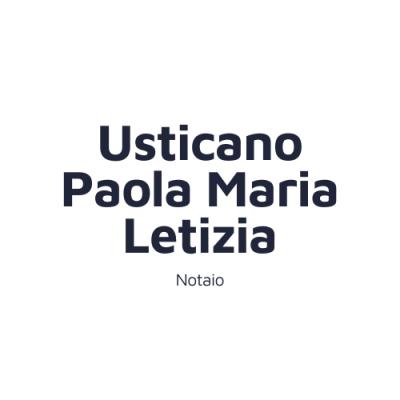 Notaio Usticano Paola Maria Letizia
