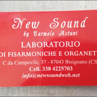 New Sound - Strumenti musicali ed accessori - vendita al dettaglio Bisignano