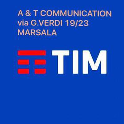 Negozio Tim - A&T Communication - Telefonia - materiali ed accessori Marsala