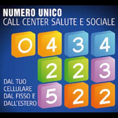 Asugi Call Center Unico per Salute e Sociale - A.s.l. aziende sanitarie locali Gorizia