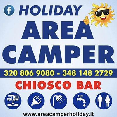 Area Sosta Camper Holiday - Caravans, campers, roulottes e accessori San Pietro in Bevagna