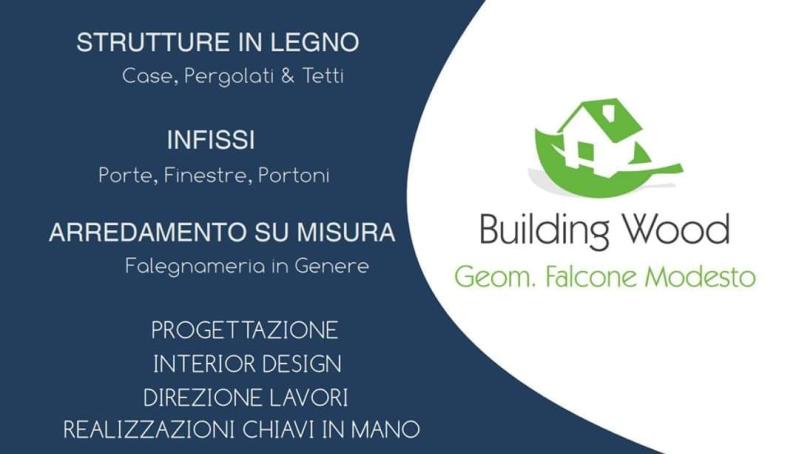 Building Wood - Strutture in Legno Case Pergolati e Tetti